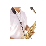 SANGLE SAXOPHONE BG S20M A-T CUIR