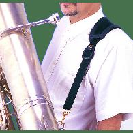 SANGLE TUBA BG T01 2 CROCHETS METAL POMPE