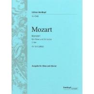 MOZART W.A. CONCERTO DO MAJEUR HAUTBOIS