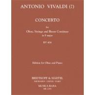 VIVALDI A. CONCERTO RV 458 HAUTBOIS