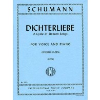 SCHUMANN R. DICHTERLIEBE OP 48 VOICE LOW