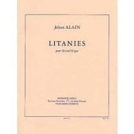 ALAIN J. LITANIES GRAND ORGUE