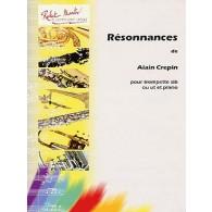 CREPIN A. RESONNANCES TROMPETTE