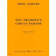 GERARD F. TOY TRUMPET'S CIRCUS¨PARADE TROMPETTE