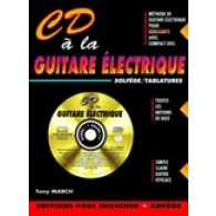 MARCH T. CD A LA GUITARE ELECTRIQUE