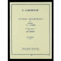 GARIBOLDI G. 20 ETUDES MIGNONNES OP 131 FLUTE