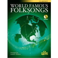 WORLD FAMOUS FOLKSONGS CLARINETTE