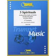 3 SPIRITUALS TROMPETTES