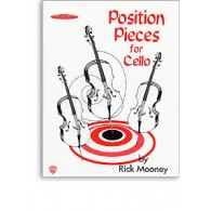 MOONEY R. POSITION PIECES BOOK 1 FOR CELLO