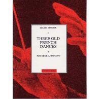MARAIS MARIN THREE OLD FRENCH DANCES HAUTBOIS