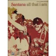 SANTANA C. ALL THAT I AM GUITARE