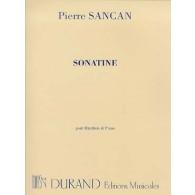 SANCAN P. SONATINE HAUTBOIS