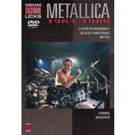 METALLICA DVD DRUM LEGENDARY LICKS 1983-1988