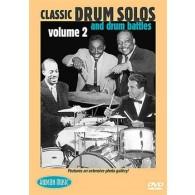 DVD CLASSIC DRUM SOLOS AND DRUM BATTLES VOL 2