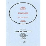 HAYDN J. DUOS HAUTBOIS