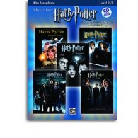 POTTER HARRY SELECTIONS INSTRUMENTAL SOLOS MOVIES 1-5  SAXOPHONE ALTO