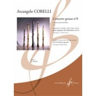 CORELLI A. CONCERTO GROSSO OP 6 N°8 CLARINETTES