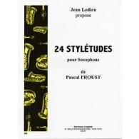 PROUST P. 24 STYLETUDES SAXO
