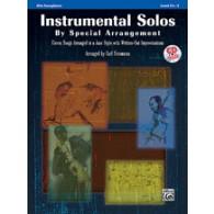 INSTRUMENTAL SOLOS BY SPECIAL ARRANGEMENTS SAXO ALTO