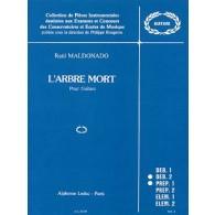 MALDONADO R. L'ARBRE MORT GUITARE