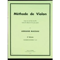 MASSAU A. METHODE DE VIOLON VOL 3