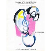 PANORAMA SAXOPHONE VOL 2