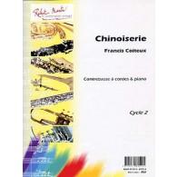 COITEUX F. CHINOISERIE CONTREBASSE