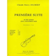 JOUBERT C.H. SUITE N°1 CONTREBASSE
