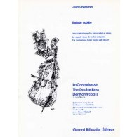 CHASTANET J. BALLADE OUBLIEE CONTREBASSE