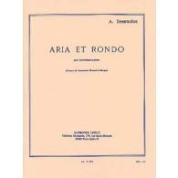 DESENCLOS A. ARIA ET RONDE CONTREBASSE