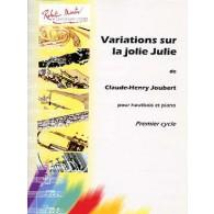 JOUBERT C.H. VARIATIONS SUR LA JOLIE JULIE HAUTBOIS