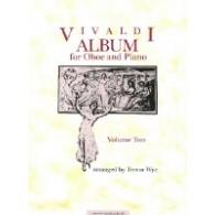 WYE T. VIVALDI ALBUM HAUTBOIS