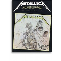 METALLICA AND JUSTICE FOR ALL GUITARE