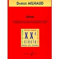 MILHAUD D. DANSE SAXO ALTO