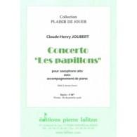 JOUBERT C.H. CONCERTO LES PAPILLONS SAXO MIB