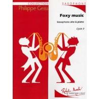 GEISS P. FOXY MUSIC SAXO ALTO