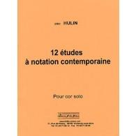 HULIN E. ETUDES A NOTATION CONTEMPORAINE COR