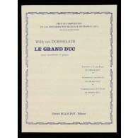 VAN DORSSELAER W. LE GRAND DUC TROMBONE