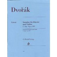 DVORAK A. SONATINE OP 100 VIOLON