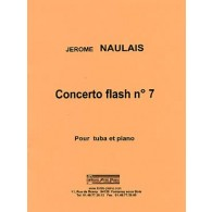 NAULAIS J. CONCERTO FLASH N°7 TUBA BASSE