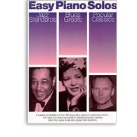 EASY PIANO SOLOS JAZZ BLUES POPULAR CLASSICS