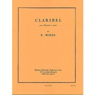 BOZZA E. CLARIBEL CLARINETTE