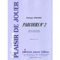 OPRANDI P. PARCOURS N°2 PERCUSSIONS