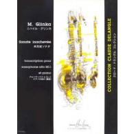 GLINKA M.I. SONATE INACHEVEE SAXO MIB