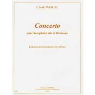 PASCAL C. CONCERTO SAXO MIB