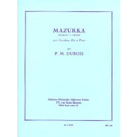 DUBOIS P.M. MAZURKA SAXO MIB