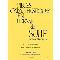 DUBOIS P.M. PIECE CARACTERISTIQUE EN FORME DE SUITE N°5 SAXO MIB