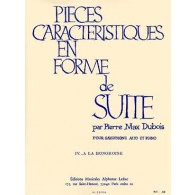 DUBOIS P.M. PIECE CARACTERISTIQUE EN FORME DE SUITE N°4 SAXO MIB