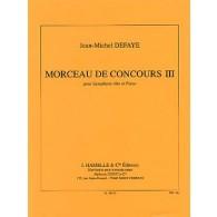 DEFAYE J.M. MORCEAU DE CONCOURS III SAXO MIB