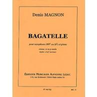 MAGNON D. BAGATELLE SAXO MIB